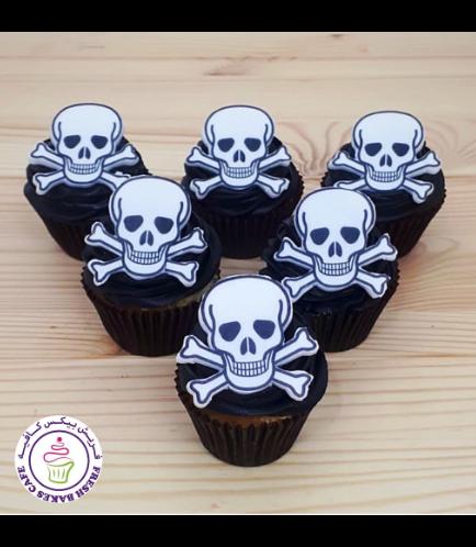 Cupcakes - Skulls & Bones