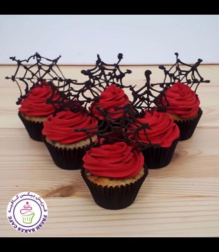 Cupcakes - Spiderwebs