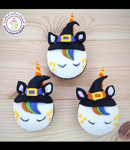 Cupcakes - Fondant - Halloween 01