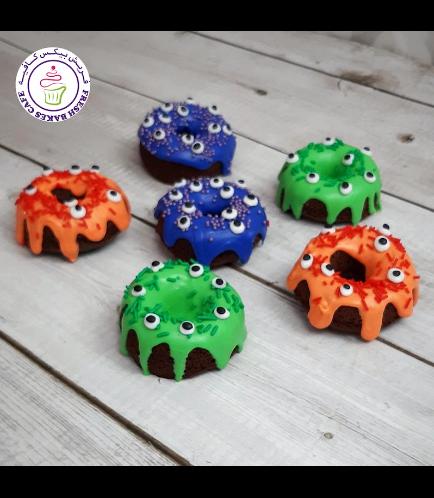 Halloween Themed Donuts - Eyeballs 02