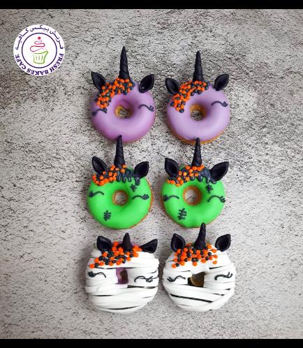 Halloween Themed Donuts - Unicorn