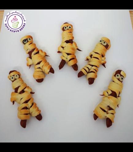 Pastries - Hot Dog Rolls - Mummies