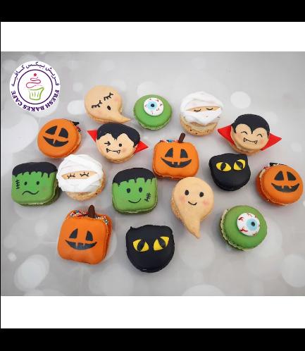 Halloween Themed Macarons 01