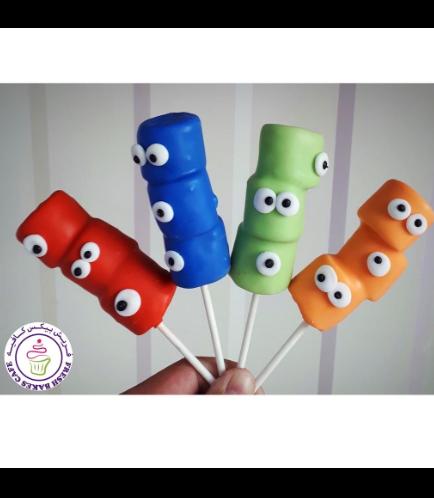 Marshmallow Pops - Monsters 02