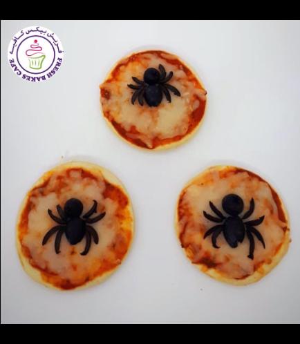 Pastries - Mini Pizzas - Spiders