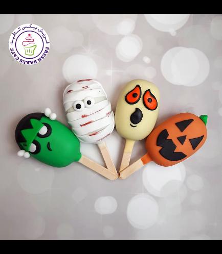 Halloween Themed Popsicakes - Miscellaneous 02