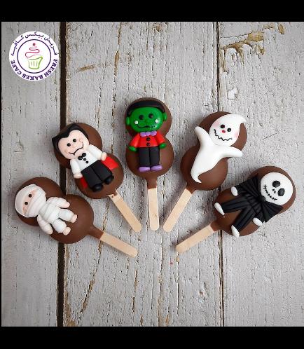 Halloween Themed Popsicakes - Miscellaneous 01