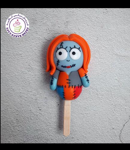Halloween Themed Popsicakes - Sally
