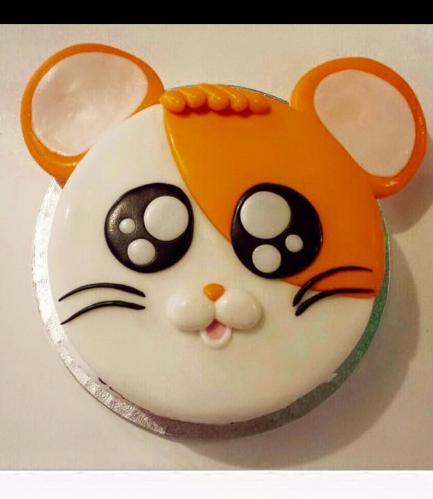 Hamster Themed Cake - 2D Cake