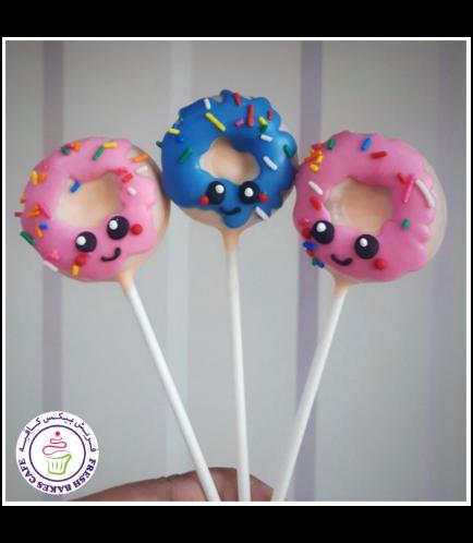 Cartoon Themed Donut Pops 01