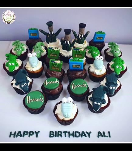 Harold's Themed Cupcakes