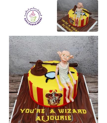 Cake - Dobby the House Elf - 3D Cake Topper 01