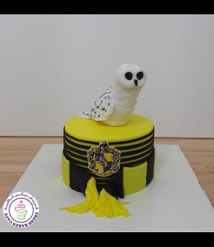 Cake - Owl - 3D Cake Topper 02
