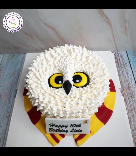 Cake - Owl - Cream Cake