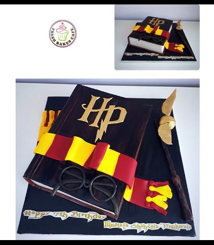 Cake - Book - 3D Cake 02