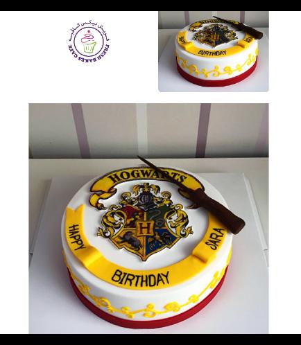 Cake - Hogwarts - Logo 02