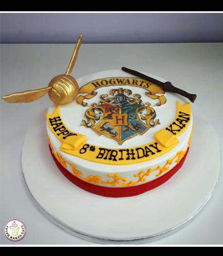 Cake - Hogwarts - Logo 01