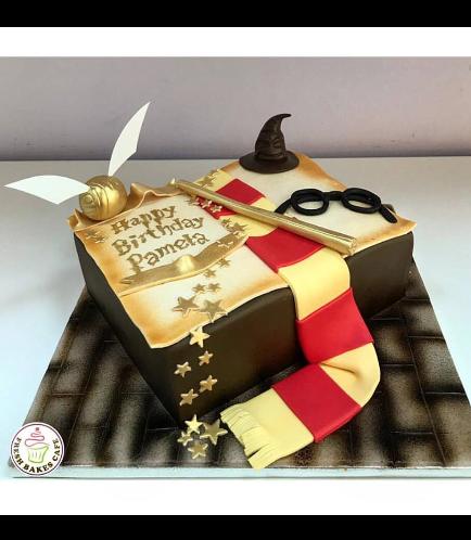 Cake - Book - 3D Cake - Open Book 01