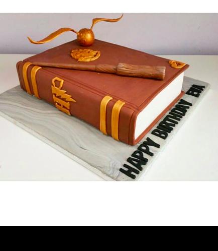 Cake - Book - 3D Cake 01