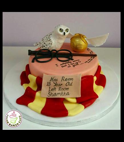 Cake - Owl - 3D Cake Topper 01