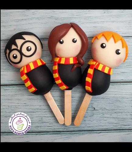 Harry Potter Themed Popsicakes