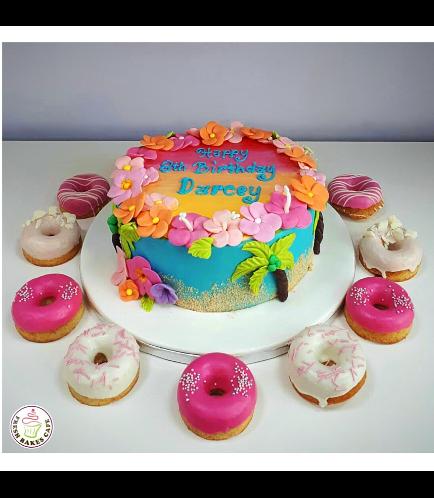 Hawaiian Themed Cake 06b
