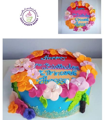 Hawaiian Themed Cake 06a