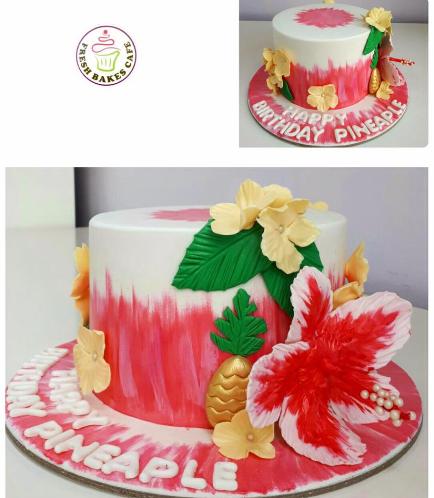 Cake - Hibiscus & Pineapple 01a