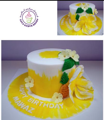 Cake - Hibiscus & Pineapple 01b