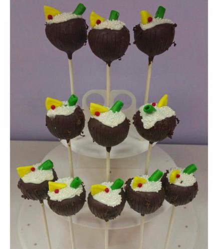 Cake Pops - Coconut Tropical Drink