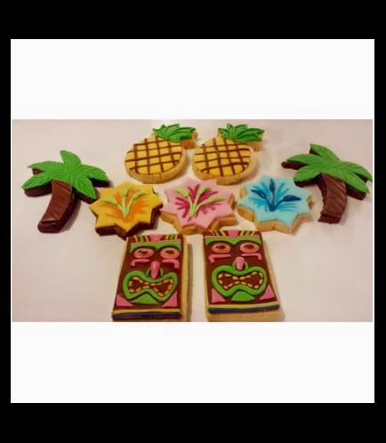 Hawaiian Themed Cookies 01
