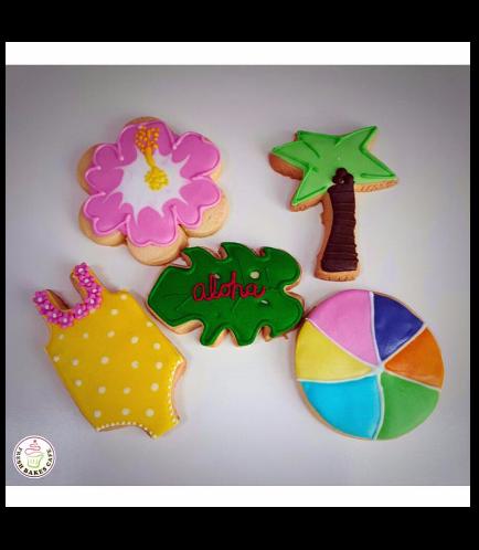 Hawaiian Themed Cookies 02