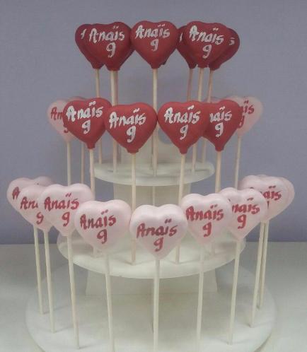 Heart Themed Cake Pops