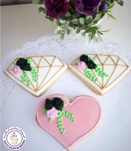 Cookies - Hearts & Diamonds