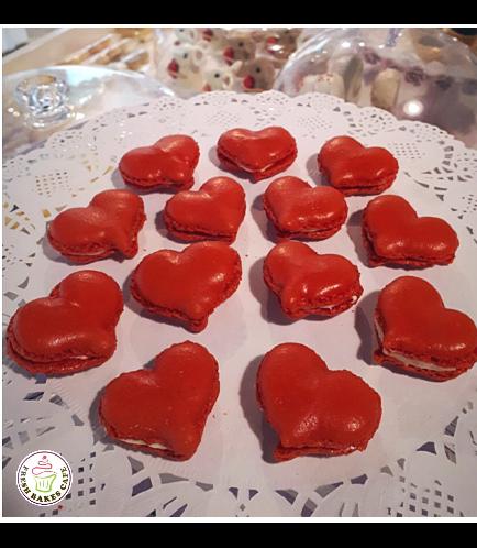 Macarons - Hearts