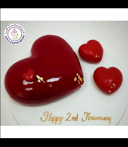 Cake - Heart Cake - Glossy