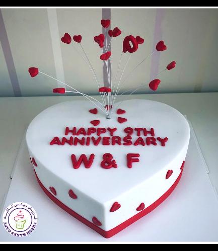 Cake - Heart Cake - Hearts