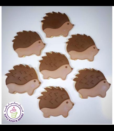 Hedgehog Themed Cookies