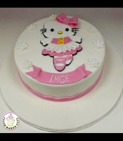 Hello Kitty Themed Cake 08