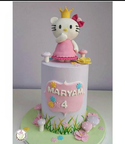 Hello Kitty Themed Cake 09a