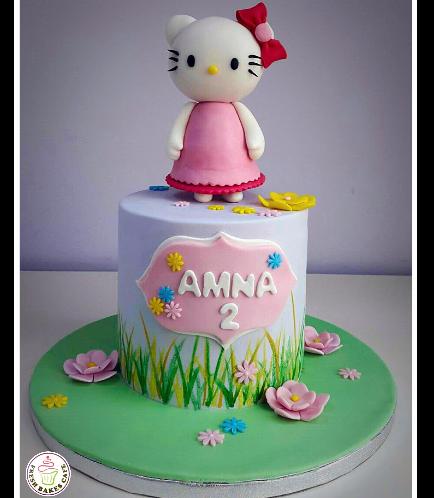 Hello Kitty Themed Cake 09b
