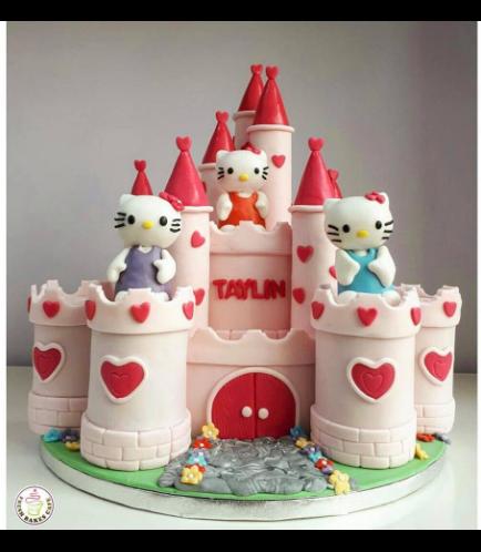 Hello Kitty themed Cake 10