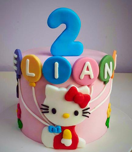 Hello Kitty Themed Cake 11