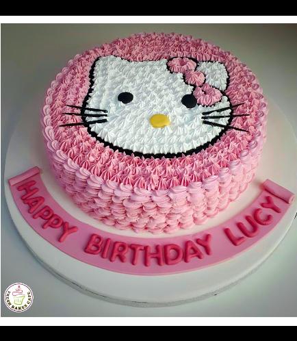 Hello Kitty Themed Cake 12