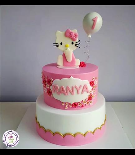 Hello Kitty Themed Cake 13