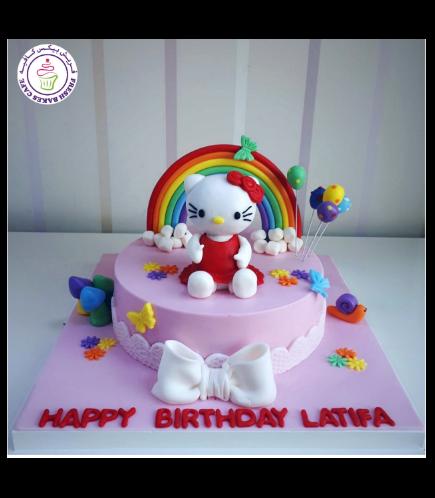 Hello Kitty Themed Cake 14
