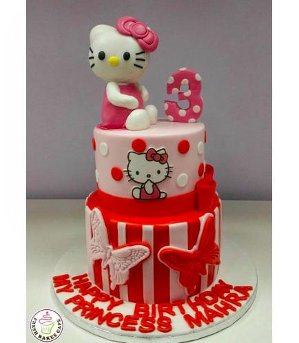 Hello Kitty Themed Cake 07a