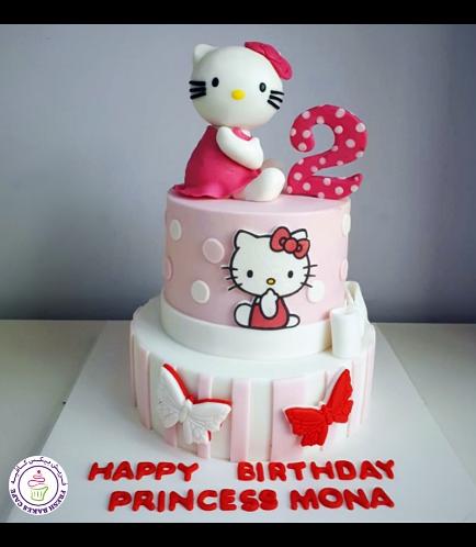 Hello Kitty Themed Cake 07b