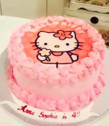 Hello Kitty Themed Cake 04