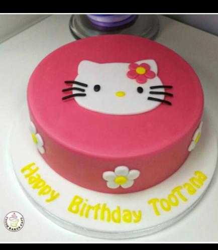 Hello Kitty Themed Cake 02